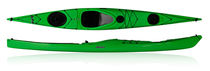 sea kayak : touring kayak DELPHIN 155 P&H Sea Kayaks