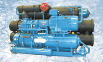 seawater refrigeration system for fishing ships RSW WITH SCREW COMPRESSOR Teknotherm