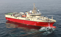 seismic research vessel 3000 DWT / PGS APOLLO Factorias Juliana, S.A.U.