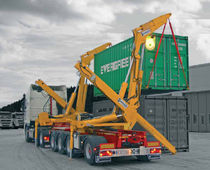 self-loading container trailer (side-lift) 150-SERIES Hammar Maskin AB