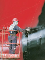 self-polishing anti-fouling coating (for merchant ships and professional boats) HEMPASIL X3  Hempel