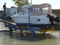 self-propelled boat handling trailer (with boat cradle) ECOLEV CMB300  SECOPORT