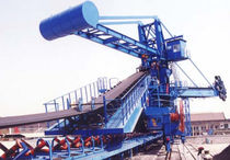 self-unloading system for bulk carriers (belt conveyor) STACKER Nanjing Port Machinery