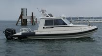 service boat : pilot-boat (rigid inflatable boat, outboard, twin engine) TITAN 240XL CABIN Titan