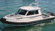 service boat : pilot-boat (rigid inflatable boat, outboard, twin engine) TITAN 240XL PILOT Titan