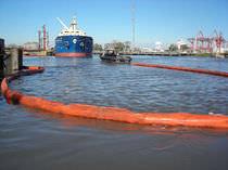 sheltered waters floating oil boom (inflatable)  Cintra