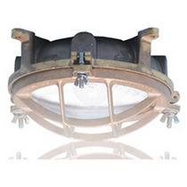 ship ceiling-mounted luminaire (incandescent lamp bulb, for interior lighting) ProGuard 1440/1449/br  Pauluhn