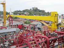 ship deck crane : boom crane  EBI