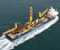 ship deck crane : heavy lift crane (general cargo) CBB 350: &gt;350T Liebherr-International Deutschland