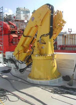 ship deck crane : knuckleboom crane  ESI - Equipment &amp; Services International LLC