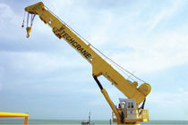 ship deck crane : telescopic crane T200 SERIES Techcrane