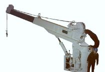 ship deck crane : telescopic crane  Karmoy