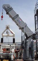 ship deck crane : telescopic crane SCTT SERIES  Ned - Deck Marine