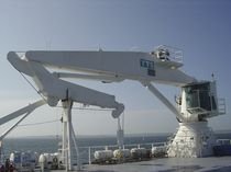 ship deck crane : telescopic crane  TTS Marine