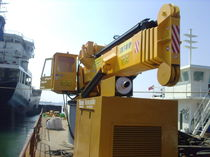 ship deck crane : telescopic crane PRODUCT- 6 Ozuyan Hydroulic Crane Export Company