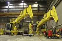 ship deck crane : telescopic crane  EBI