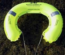 ship horseshoe lifebuoy (auto-inflatable) PLT® RESCUE Restech Norway