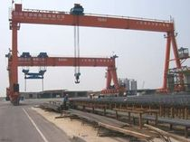 shipyard crane : gantry crane DLM 100 Suzhou Dafang