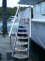 side boarding ladder for yachts  Nautical Structures