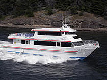 sightseeing boat (catamaran) 82' VALDEZ SPIRIT  All American Marine