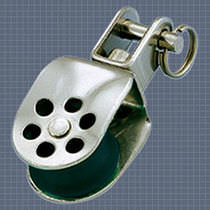 single block with swivel for sailboats (max. line &oslash; : 10 mm) 30425 Wichard