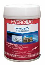 single-component filler FORMULA 27 Evercoat Marine