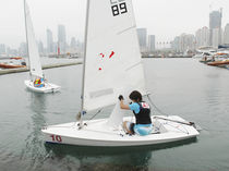single-handed sailing dinghy : cat boat SPLASH  Qingdao Zou Inter Marine Co.,Ltd.