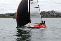 single-handed sailing dinghy : skiff (asymmetric spinnaker) mxNext MX Speed Dream