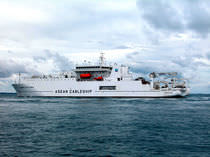 special vessel : cable ship (shipyard) ASEAN EXPLORER  SembCorp Marine Ltd