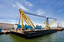 special vessel : crane barge CHESAPEAKE 1000 Donjon Marine