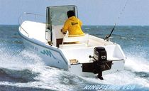 sport-fishing boat : outboard center console boat KINGFISHER Conero