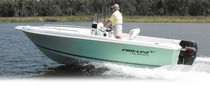 sport-fishing boat : outboard center console boat 21 CC Pro Line Boats
