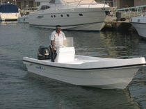 sport-fishing boat : outboard center console boat 22 FEET Al Dhaen Craft