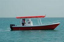 sport-fishing boat : outboard center console boat (twin engine, T-Top) 26 FEET  Al Dhaen Craft