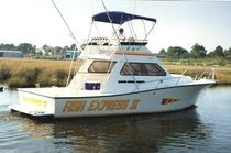 sport-fishing boat : flybridge express-cruiser 32' SPORT FISH Newton Boats