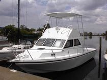 sport-fishing boat : flybridge express-cruiser SEA HAWK 36 Island Hopper International Boat Works, Inc.
