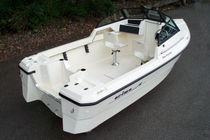 sport-fishing boat : in-board runabout SEA HUNTER 15 F Arima