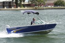 sport-fishing boat : in-board runabout AL 455 CABALLERO RA LX Whittley