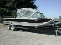 sport-fishing boat : in-board runabout (aluminium) SLED 18' Koffler