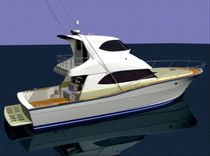 sport-fishing boat : luxury motor-yacht with enclosed flybridge UT-52 SF &quot;Mako&quot; UP-TIDE