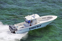 sport-fishing boat : outboard center console boat (triple engine, T-Top) 36' Invincible