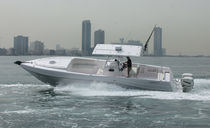 sport-fishing boat : outboard center console boat (twin engine, stepped hull, cabin, T-Top) 36 CC (CUDDY CABIN) Majesty Yachts