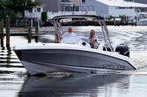 sport-fishing boat : outboard center console boat (twin engine, T-Top) 320 CC Sonic