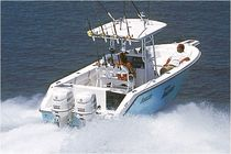 sport-fishing boat : outboard center console boat (twin engine, T-Top) 2700 CC Angler