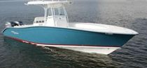 sport-fishing boat : outboard center console boat (twin engine, T-Top) 31 XS Cape Horn Boats