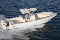 sport-fishing boat : outboard center console boat (twin engine, T-Top) OFFSHORE 32 Panga Fishing Boats