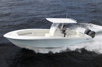 sport-fishing boat : outboard center console boat (twin engine, T-Top) 33' Invincible
