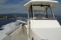 sport-fishing boat : outboard center console boat (twin engine, with cabin, T-Top) OSIA 315 Capelli