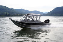 sport-fishing boat : outboard runabout (aluminium) BAY BEE 22' Koffler
