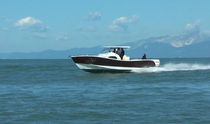 sport-fishing boat : outboard walkaround (twin engine, T-Top) REQUIN GRIS 28 Akesdesign
